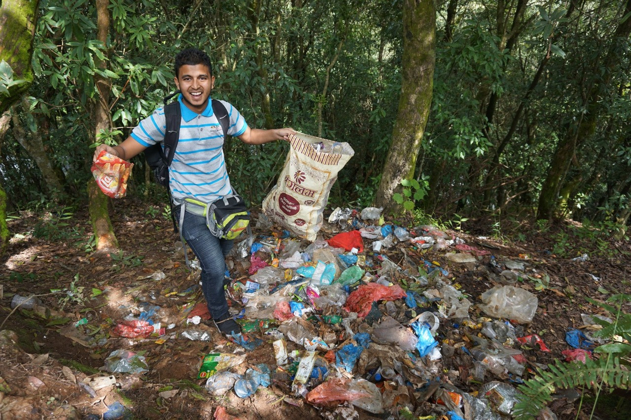 Sundarijal Cleanup Campaign2  Album image Doko Recyclers