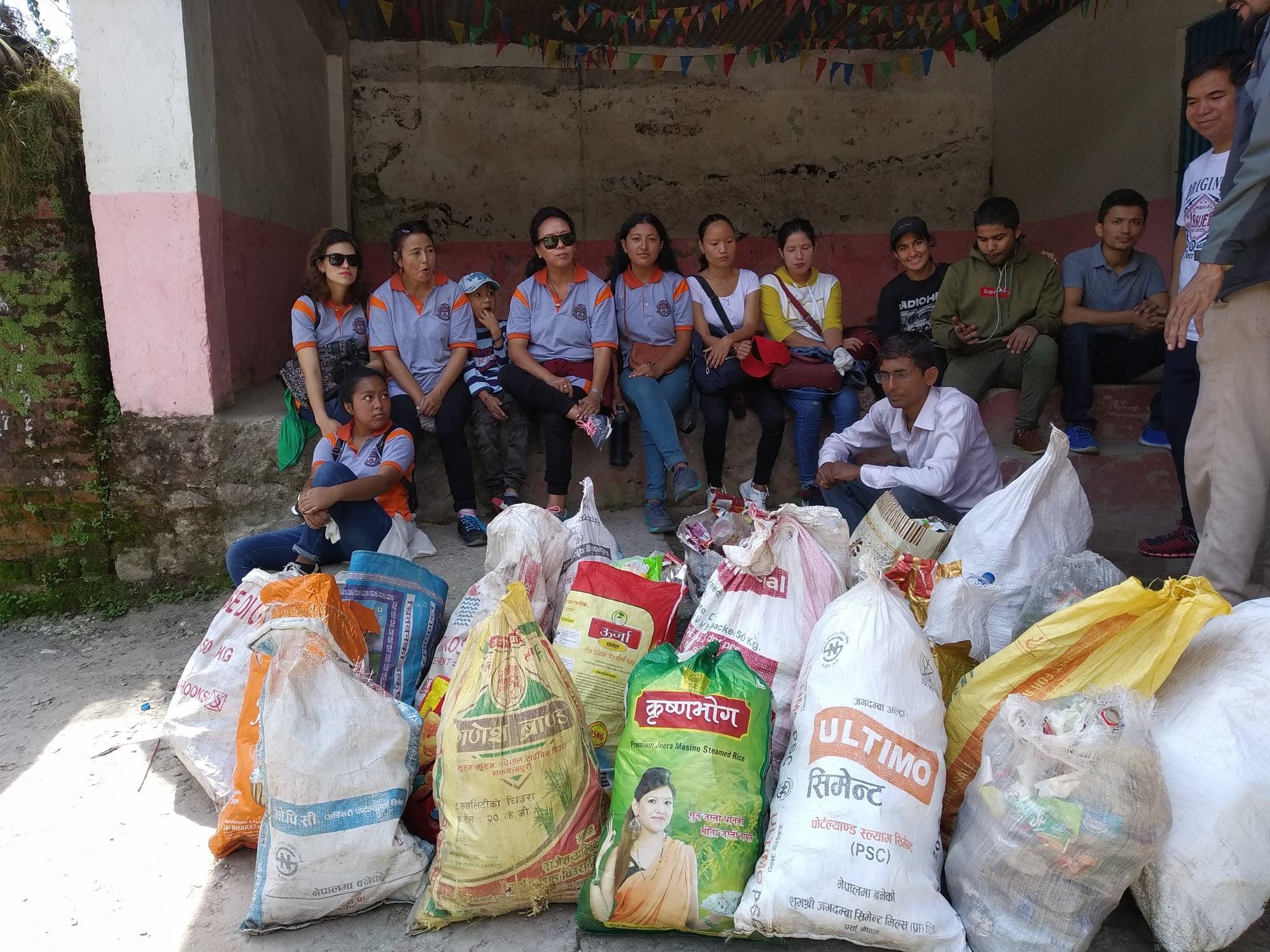 Sundarijal Cleanup Campaign3  Album image Doko Recyclers