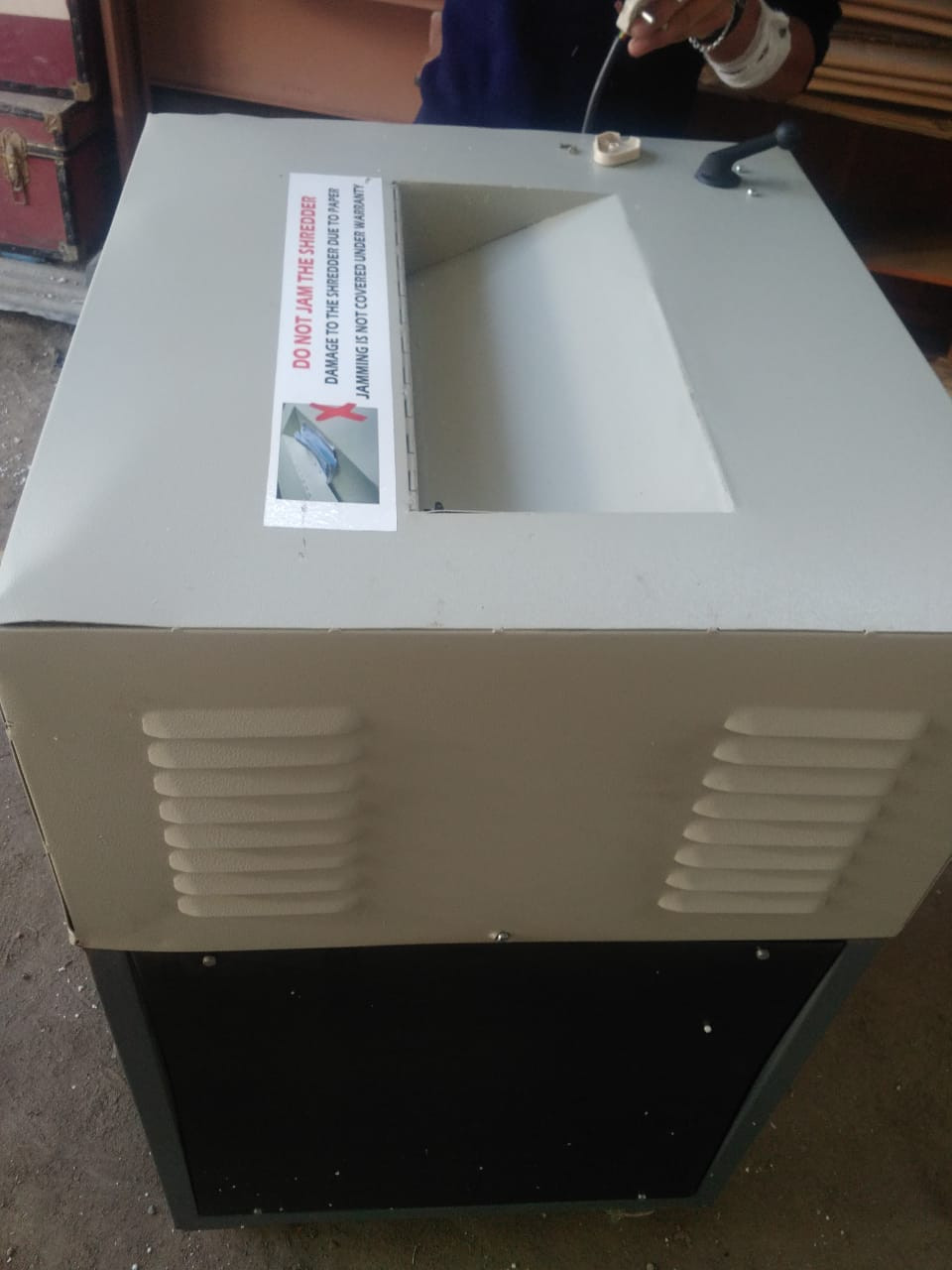 Paper Shredding1  Album image Doko Recyclers