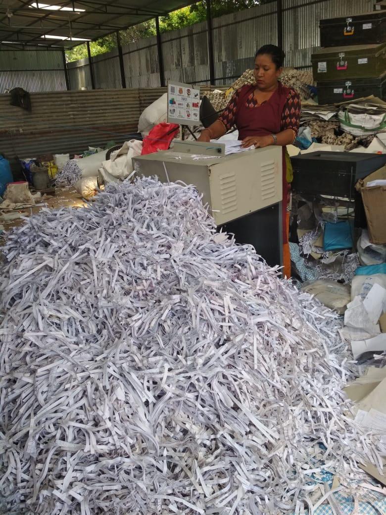 Paper Shredding3  Album image Doko Recyclers
